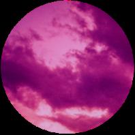 Sunset circle 200x200